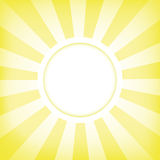太阳概念背景 免版税库存图片