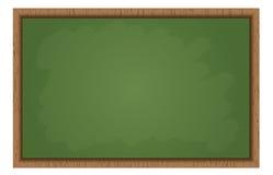 空白的学校黑板 库存图片