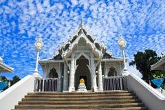 空白的寺庙 免版税库存照片