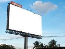 空白的广告牌准备好新的广告 库存图片