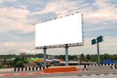 空白的广告牌或路标准备好新的广告 库存照片