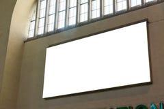 空白的广告空间城市城市环境斯图加特Geramny公众B 库存图片