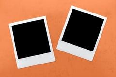 空白的快速照相机胶卷画面 库存照片
