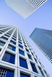 空白的摩天大楼 免版税库存照片