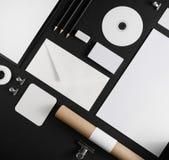 空白的文具照片  免版税库存照片