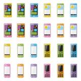 空白的智能手机 免版税库存图片