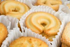 空白的曲奇饼 免版税库存图片