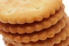 空白的曲奇饼 库存照片