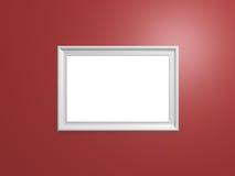 空白的照片框架 库存图片