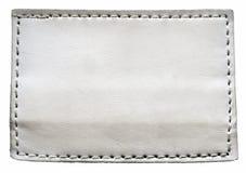 空白的牛仔裤标签 免版税图库摄影
