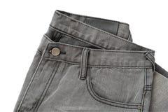 空白的牛仔裤 库存图片