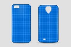 空白的电话盒 盖子大模型 也corel凹道例证向量 库存图片