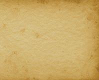 空白的空的难看的东西葡萄酒象册构造了页背景,老年迈的被弄脏的纹理,在米黄乌贼属的水平的股份单 库存图片