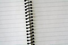 空白的笔记本 库存照片