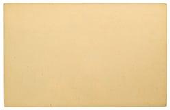 空白的纸板明信片 免版税库存图片
