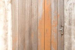 空白的老棕色木抽象背景和纹理 免版税库存图片