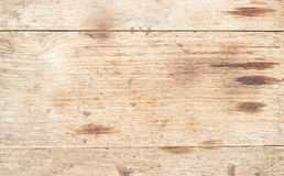 空白的老棕色木抽象背景和纹理 库存图片