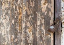 空白的老棕色木抽象背景和纹理 图库摄影