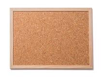 空白的老corkboard 库存图片