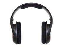 空白的耳机 免版税库存图片