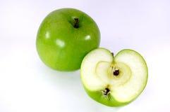 空白的苹果 免版税库存图片