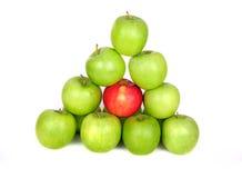 空白的苹果 免版税库存照片