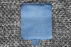空白的衣裳标签 免版税库存照片