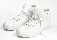 空白的运动鞋 图库摄影
