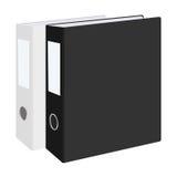 空白的闭合的办公室黏合剂在白色背景设置了被隔绝 例证 免版税图库摄影