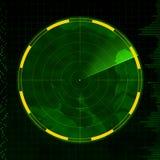 空白的雷达 免版税库存照片