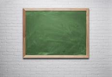空白的黑板 免版税库存图片