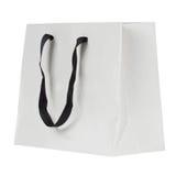 空白的购物袋 免版税库存照片