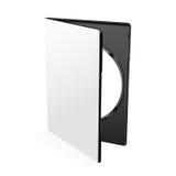 空白的Dvd案件传染媒介 免版税库存图片
