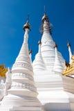空白的stupas 免版税库存图片