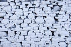 空白石墙 库存图片