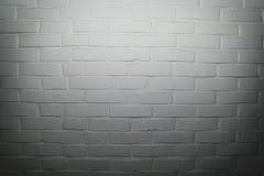空白砖墙背景 库存照片