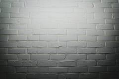 空白砖墙背景 免版税库存照片