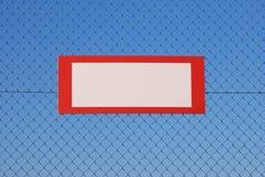 空白禁止符号 图库摄影