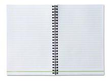 空白笔记本 免版税图库摄影