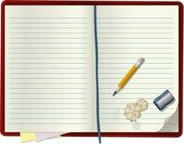 空白笔记本 免版税库存图片