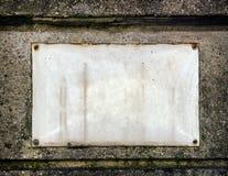 空白符号 免版税库存照片
