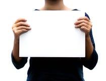 空白符号 免版税图库摄影