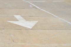空白箭头题头左右路的轮 库存图片