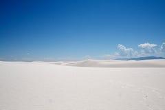 空白纪念碑国家的沙子 免版税库存照片