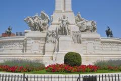 空白纪念碑 免版税库存图片