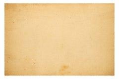 空白老纸张 免版税库存照片