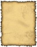 空白老纸羊皮纸 免版税库存照片