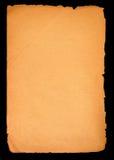 空白老页纸张 免版税库存照片
