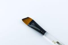 空白背景画笔查出的绘的工具 库存照片
