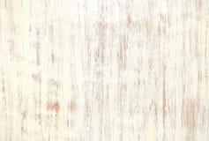 空白色的木纹理 免版税库存图片
